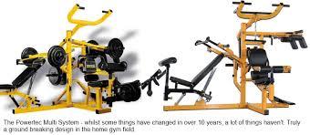 Powertec Weight Bench Fitness Equipment Powertec