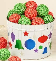 ornament popcorn balls