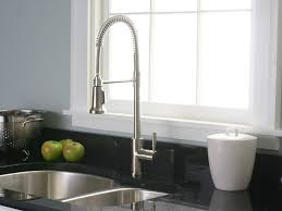 Low Flow Kitchen Faucet Sink U0026 Faucet Silver Lowes Kitchen Faucets With Single Handle