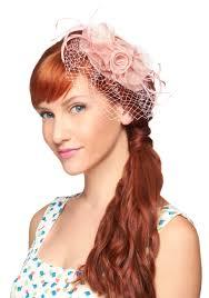 retro hair accessories primrose and proper bralette fascinator primroses and feathers