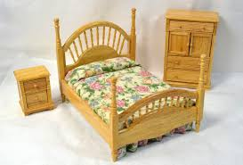 Doll House Furniture Vintage House Of Miniatures Doll House Furniture Bedroom Set Bed