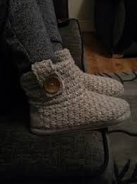 womens boots tesco womens knitted slipper boots 5 f f tesco clothing delivered 50
