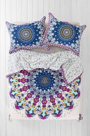 Space Bedding Twin Bedroom Magical Thinking Bedding Medallion Duvet Cover Urban
