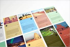 travel brochure design templates 43 travel brochure templates free