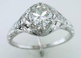 deco engagement ring deco engagement ring ebay