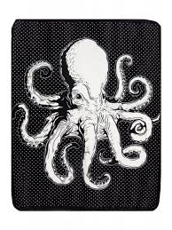 Sourpuss Shower Curtain Sourpuss Octopus Blanket