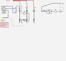 diagram phase direct motorstarter circuit electric motor