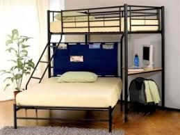 Loft Bed With Futon And Desk Futon Bunk Bed With Desk Foter