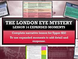 the london eye mystery complete scheme of 14 lessons by raphella