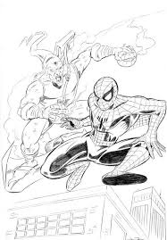 green coloring page spiderman coloring pages green goblin super heroes coloring