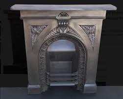 secondhand vintage and reclaimed fireplaces and fire surrounds original victorian cast iron bedroom fireplace with fern pattern