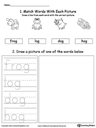 un word family phonics and writing practice myteachingstation com