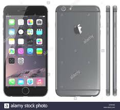 The Home Technology Store Apple Space Gray Iphone 6 Plus Showing The Home Screen With Ios 8