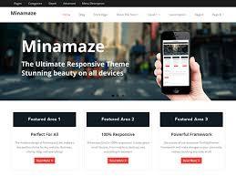 wordpress layout how to minamaze free wordpress themes