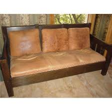 antique stickley mission settee sofa 2085341