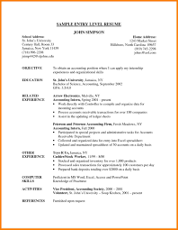 financial analyst resume exles 2 9 entry level resume exles precis format
