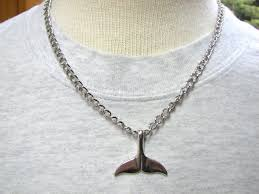 chain necklace mens images Men 39 s whale tail chain necklace bits off the beach jpg