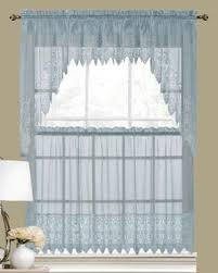 Kitchen Valances And Tiers by Valerie Macrame Sheer Kitchen U0026 Tier Curtains United Curtain