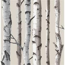birch tree decor decor birch tree wallpaper beige fd31051