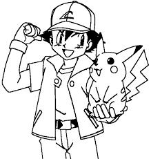 coloring amusing pokemon ash drawing maxresdefault coloring