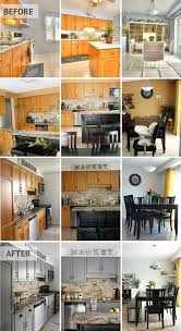 Before And After Kitchen Cabinet Makeovers Our Kitchen Cabinet Makeover Kassandra Dekoning
