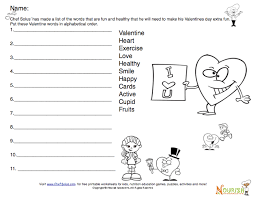 new healthy heart valentine printables for kids fun activities