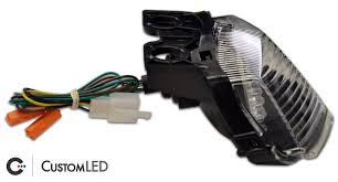 2008 2012 ninja 250r blaster x integrated led tail light custom led