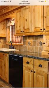 the 25 best knotty alder kitchen ideas on pinterest country
