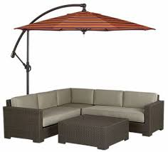 Backyard Umbrellas Large - the ventura free standing patio umbrella from crate u0026barrel