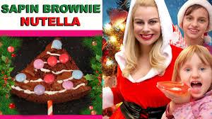 fait sa cuisine sapin brownie nutella ft studiobubbletea virginie fait sa