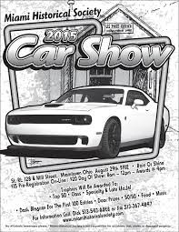 2015 annual car show miami historical society of whitewater township