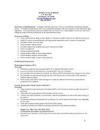 Interpersonal Skills On Resume Donna Titus Johnson Resume 2015 2