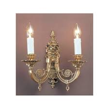 Shabby Chic Candle Sconces French Style Wall Light With Lights Shabby Chic And 3 W515