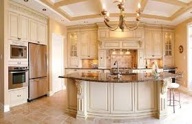 Cream Colored Kitchen Cabinets With White Appliances Cream Colored Kitchen Cabinets With White Appliances Color Granite