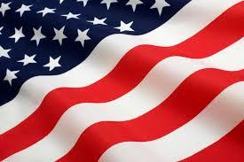 American Flag On Ground Tree Jack Ground Blind