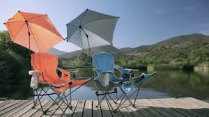 Chair Umbrellas With Clamp Sport Brella Recliner Chair Introduction Youtube