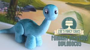 dinosaur model how to make a diplodocus cake topper jurassic