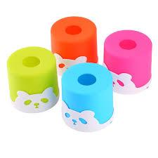 Tissue Holder Wholesale Sales Panda Paper Cylinder Tissue Colorful Tissue