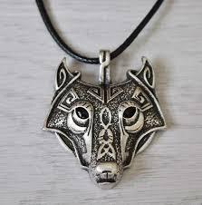 wolf necklace pendant images Norse viking wolf pendant necklace ancient explorers jpg