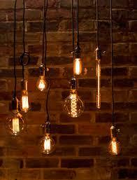 light brick sets garden brickwall hanging all sets vintage lighting industrial