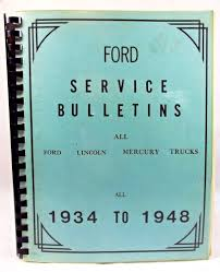 nissan canada service bulletins 1934 1948 ford lincoln mercury service bulletin reprint spiral