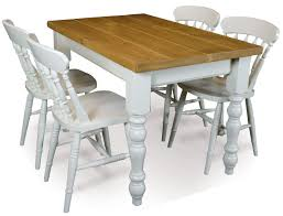 Dining Room Sets 4 Chairs by Pine Classic Farmhouse 36 X 60 Dining Table And 4 Fiddle Back