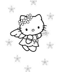 30 kitty coloring pages print