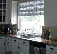ideas for kitchen window treatments lovely kitchen window treatments large kitchen window treatment
