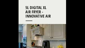 simple living products 5 2l xl digital air fryer youtube