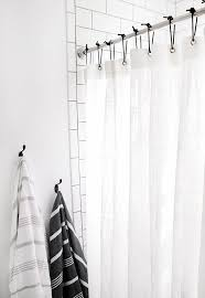 Best Shower Curtain Hooks Using Towels And Shower Curtain Hooks Curtains With Whats The Best