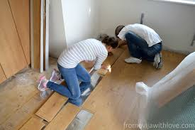 Can You Use Carpet Underlay For Laminate Flooring How To Install Flooring And Skirting Boards Diy From Evija With Love