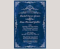 royal blue wedding invitations vintage inspired royal blue wedding invitations the the