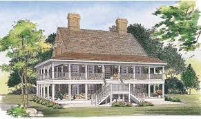 Home Plans With Porch First Rate 2 Story Home Plans With Porch 13 House Veranda