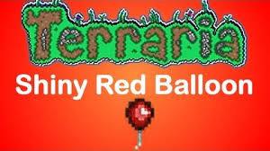 Terraria Blind Fold Shiny Red Balloon Terraria Wiki Fandom Powered By Wikia